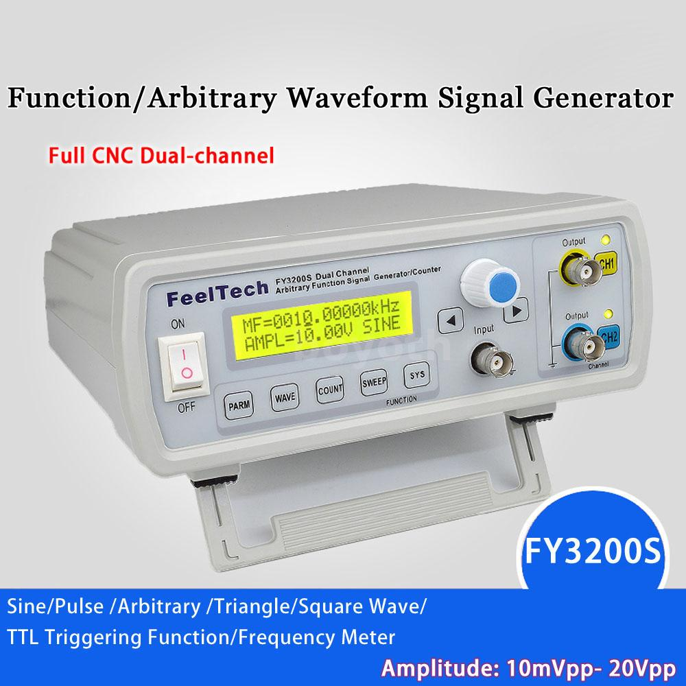 Fy3200s 20mhz 2ch Digital Dds Function Signal Generator Frequency Pulse Control By Ic From This Series Is A Multi Functional With High Precision And Performance